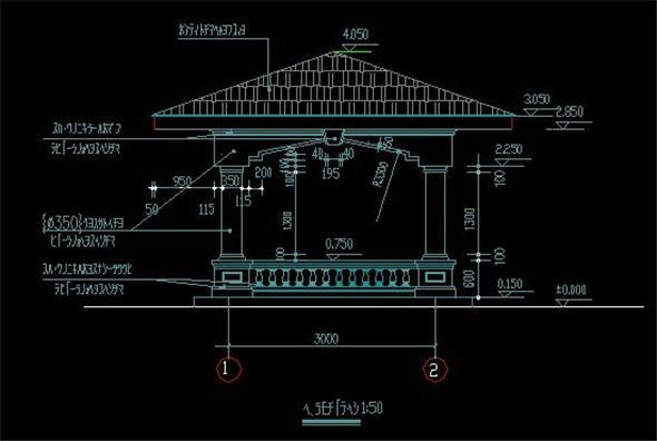建筑施工图 房屋规划位置图片
